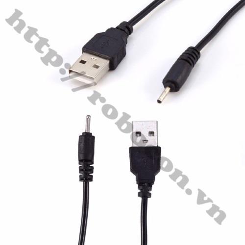 PKAT66  Dây cáp chuyển đổi USB sang đầu NOKIA chân kim