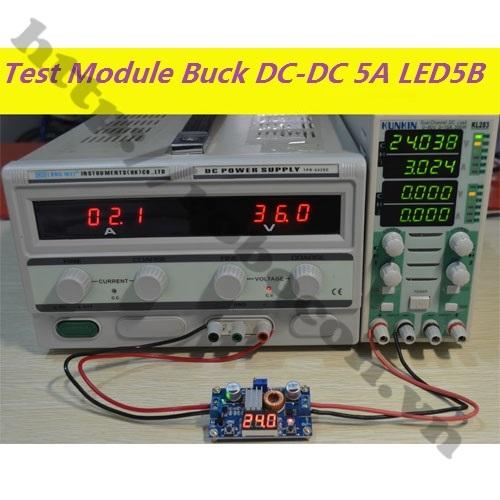 Mạch buck dc-dc 5A led