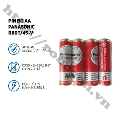 PPKP210 Pin AA Panasonic Neo R6DT/4S 1,5V Vỉ 4 Viên