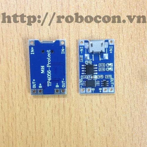 MDL74 Module Mạch Sạc Pin Có Bảo Vệ MicroUSB