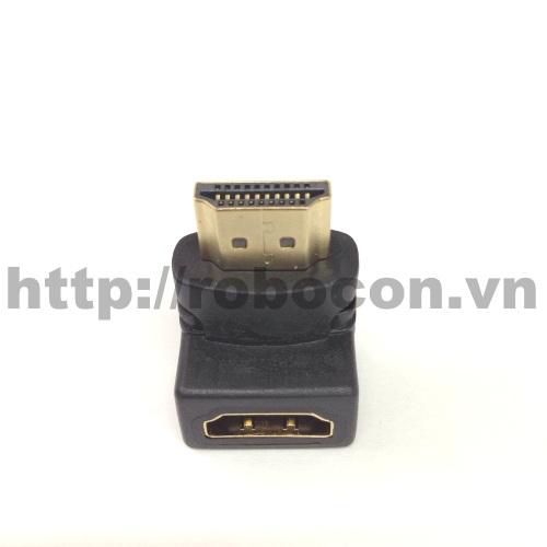 PKAT33 Đầu Chữ L Vuông Góc HDMI 1 Đực 1 Cái