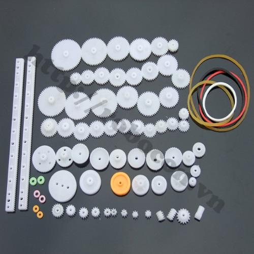 LKRB20 Bộ Bánh Răng Nhựa Robot (75 chi tiết)