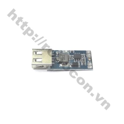 MDL124 Module mạch BUCK hạ áp 7,5-28V xuống 5V-3A cổng USB