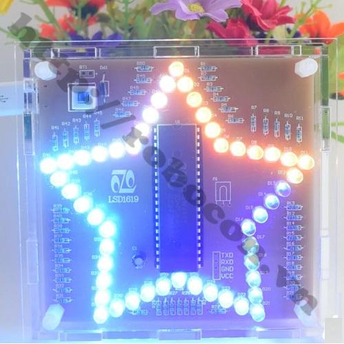 LED ngôi sao 7 màu