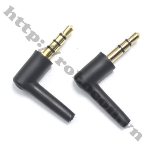 PKAT86 Jack Audio 3.5 vuông góc