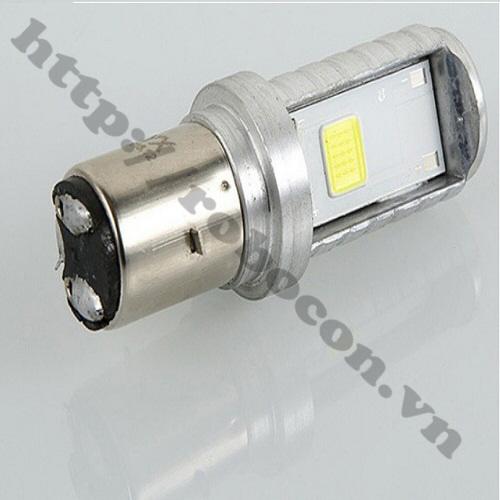LED77 Bóng Pha Led Cho Xe Máy Và Xe Đạp Điện Loại Cài
