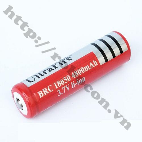 LKRB95 Pin Sạc 3.7v Li-Ion Ultrafire 18650-4800mah
