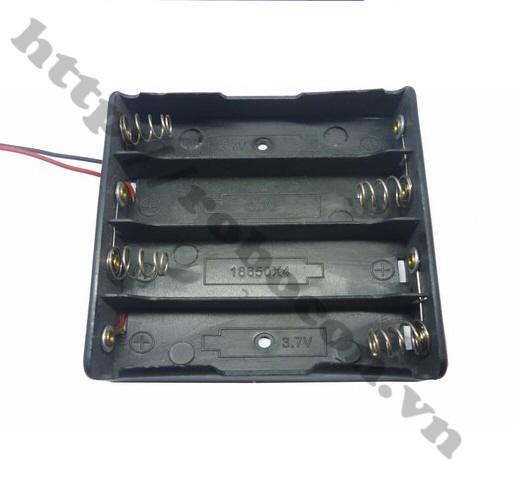 PPKP16 Hộp Đế Pin ULTRAFIRE 18650 - 4 Pin
