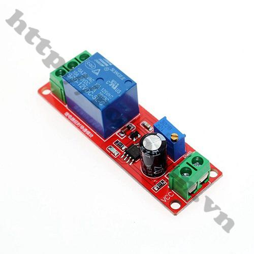 MDL167 Module Tạo Trễ Đóng Ngắt Relay 12V