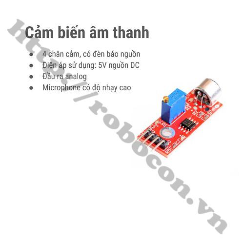 MDL172 Module Cảm Biến Âm Thanh