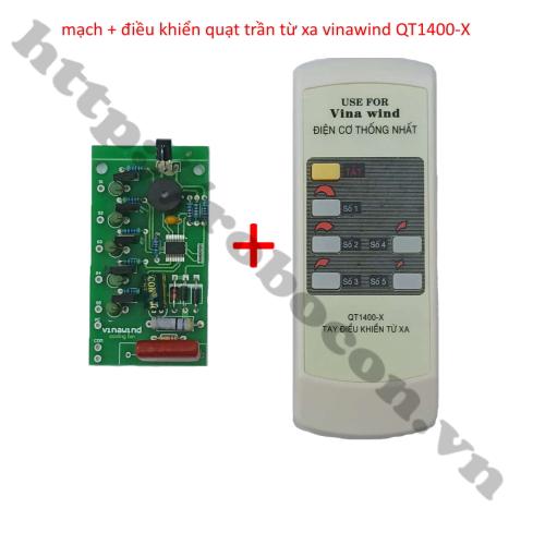 MDL318 Bộ Mạch Kèm Điều Khiển Quạt Trần Từ Xa Vinawind QT1400-X