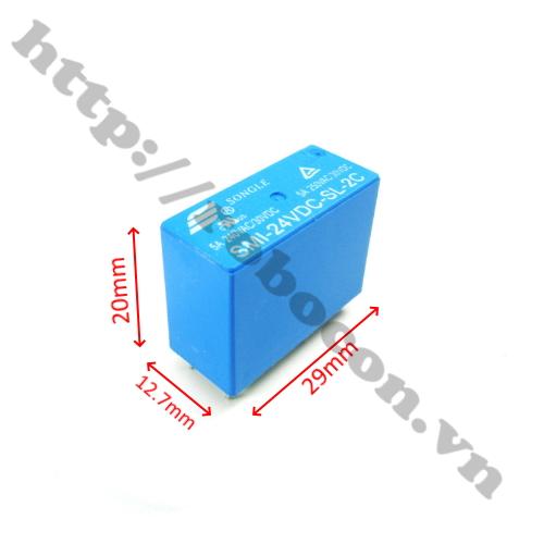 RE30 relay songle 8 chân SMI-12VDC-SL2C 12V 5A