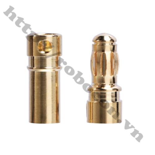 Cặp jack bắp chuối chân hàn GC3510 cho động cơ ESC 3.5mm