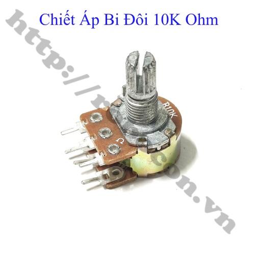 BT81 Chiết Áp Bi Đôi 10K Ohm Kép