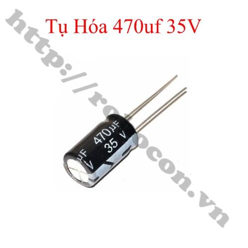 TD156 Tụ Hóa 470uf 35V