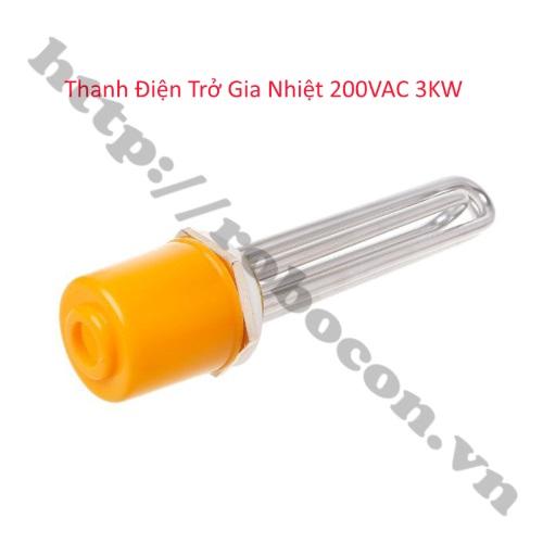 Thanh Điện Trở Gia Nhiệt 220VAC 3KW
