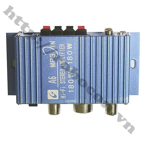PKAT88 Âm Ly Khuếch Đại Âm Thanh DX A6 Công Suất 360W(2x180W)