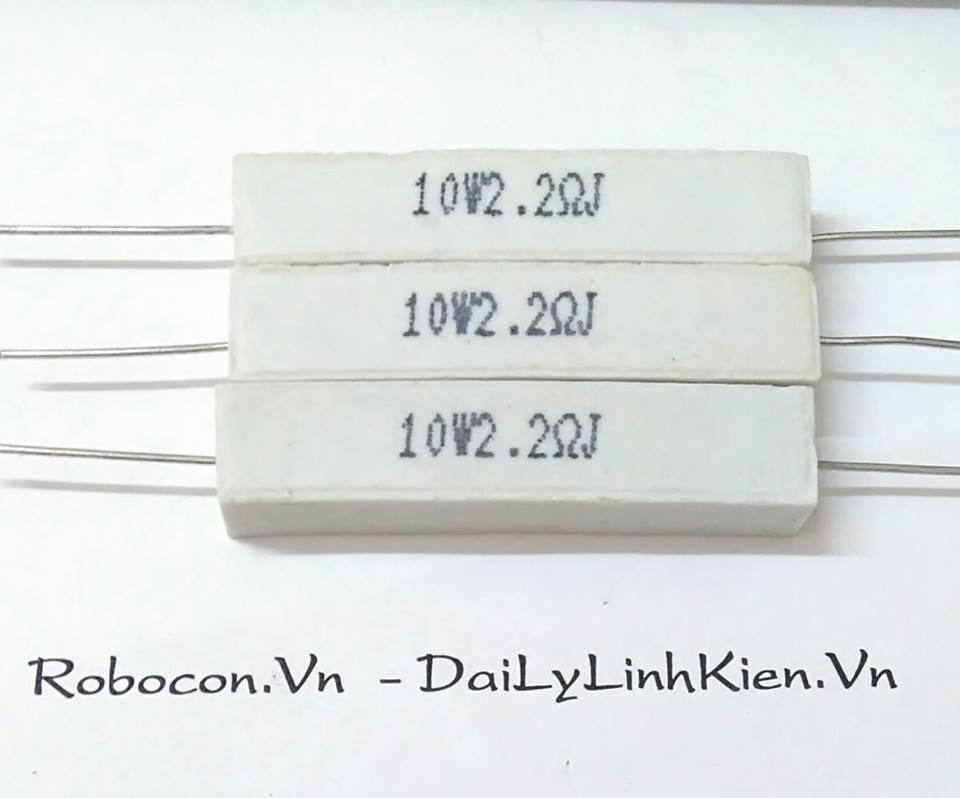 Điện trở sứ công suất 10W