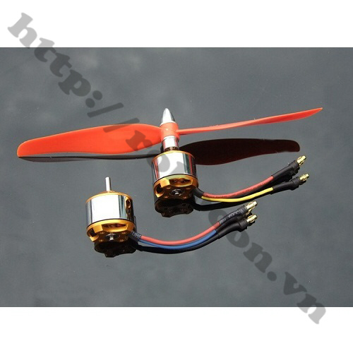 PKK291 Động Cơ Brushless Không Chổi Than A2212 2450KV
