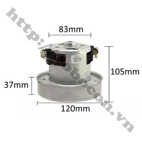Kích Thước Động Cơ Máy Hút Bụi UV-PM22 220V 1200W