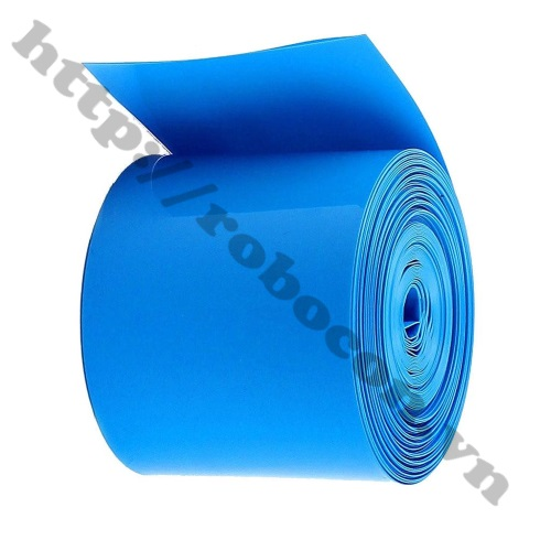 Màng Co Nhiệt PVC Cách Điện Bọc Cell Pin 18650- 120mm