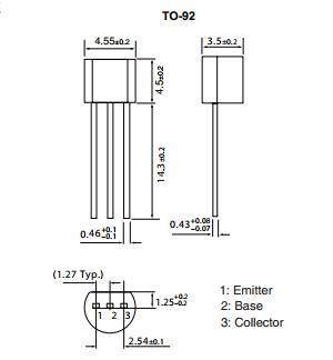 Sơ đồ chân Transistor 2sc945