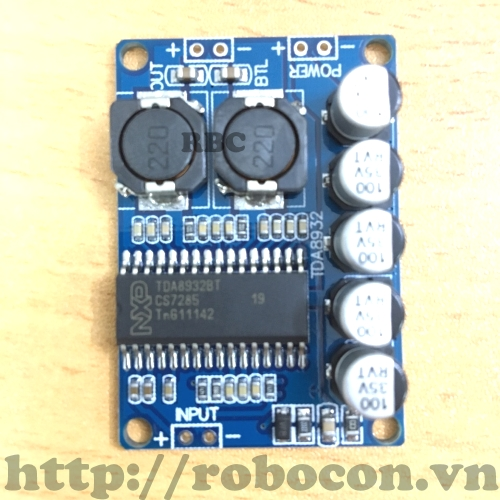 MDL62 Mạch Khuếch đại âm thanh NXP 8932 35W