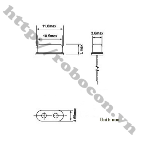 TA19 Thạch Anh 13.8Mhz SMD