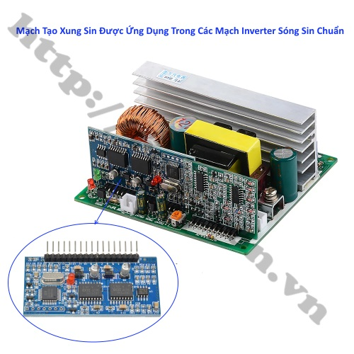 MDL348 Module Mạch Tạo Xung Sin EGS002 EG8010 IR2110