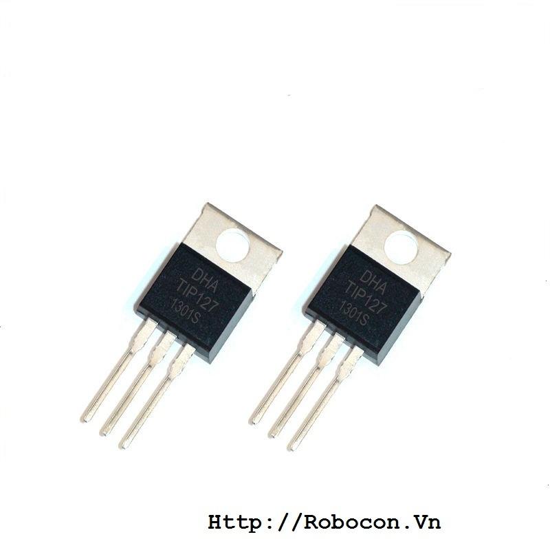 Transistor darlington TIP127