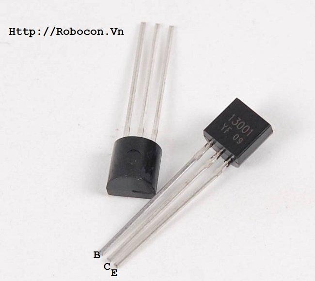 Sơ đồ chân Transistor MJE13001