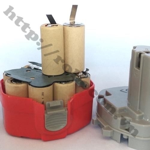 Pin Sạc Ni-CD SC 1800mAh 1.2V sử dụng làm pin máy khoan cầm tay