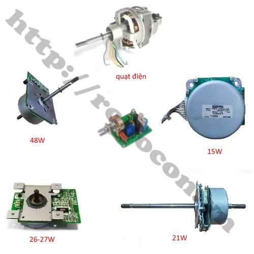 Ứng dụng cho module mạch xung điều khiển động cơ brushless chế quạt 3 pha 12V-24V