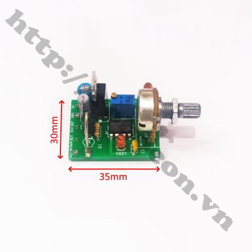 MDL324 Module mạch xung điều khiển động cơ brushless chế quạt 3 pha 12V-24V