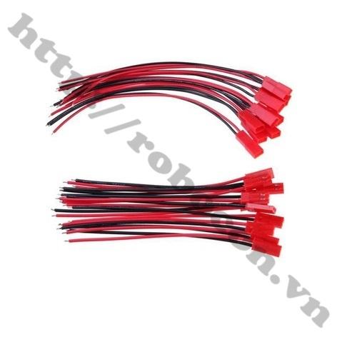 Dây Điện Silicone Đen 22AWG sử dụng làm jack nối pin