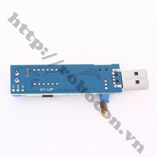 MDL271 Mạch tăng áp cổng USB DC DC 3.5V-24V có led hiển thị
