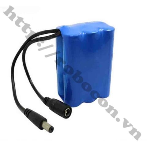 CBM98 Khối Pin 3S2P Lithium 12V 4800mAh Pin 3S Kèm Sạc