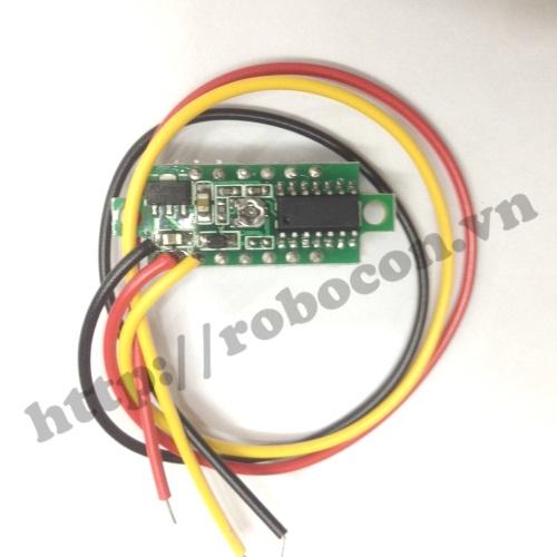 MDL76 Module Đồng Hồ Vol Kế  0V-100V 0,28 Inch
