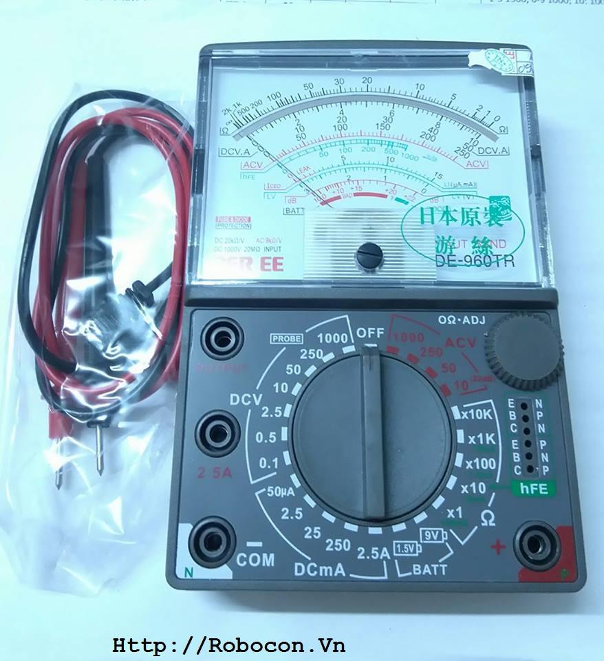 Đồng hồ vạn năng DE960-TR