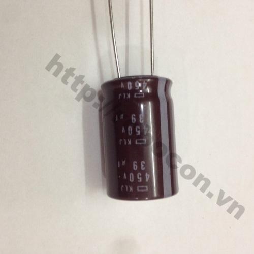 TD117 Tụ Hóa 450V 39uF