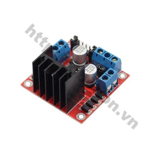 MDL104 Module Điều Khiển Động Cơ L298 Đỏ