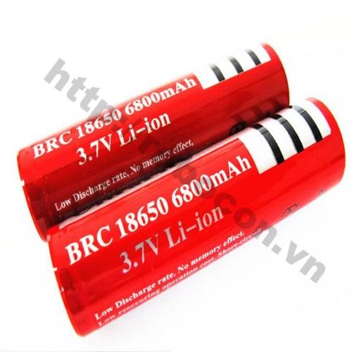 LKRB66 Pin Sạc 3.7V Li-Ion Ultrafire 18650-6800mAh
