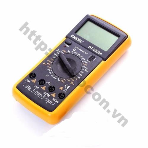 PKK131 Đồng Hồ Vạn Năng Excel DT-9205A