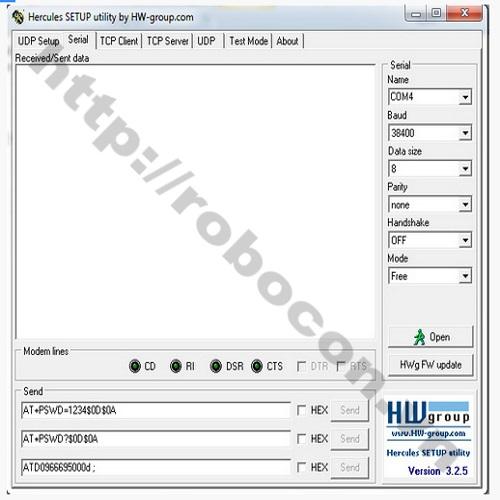 MDL64 Module Bluetooth HC05