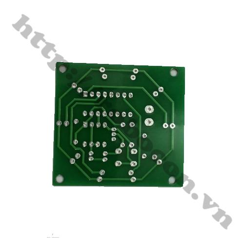Bảng mạch PCB led nháy xổ số 555 và 4017