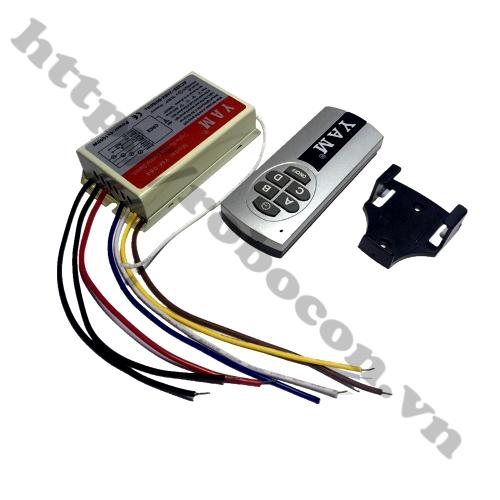 MDL135 Bộ điều khiển từ xa 4 thiết bị 4 x 1000W