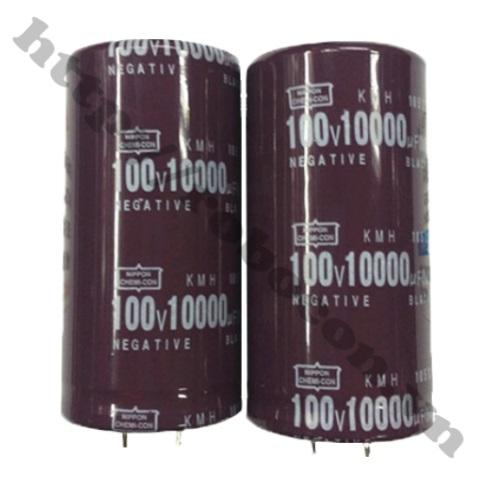 TD121 Tụ hóa  10000uF 100V for audio