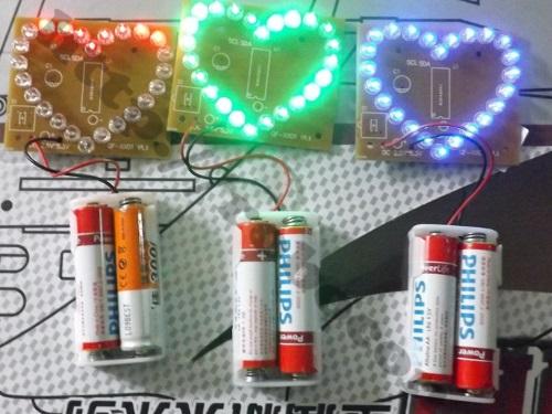 Module Đèn LED Trái Tim ( Tự Ráp)