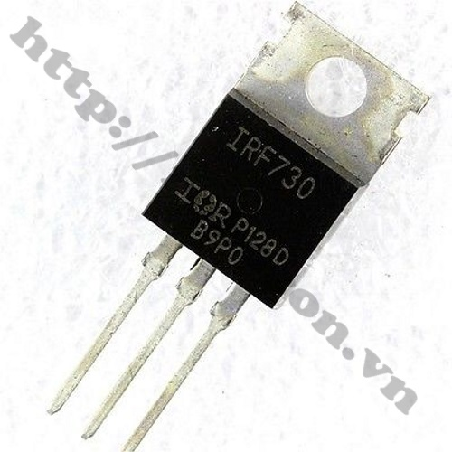 MO20 MOSFET IRF730 TO-220 10A 400V