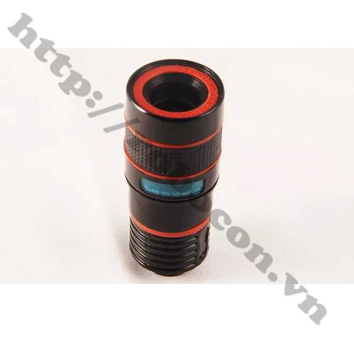 PKK286 Lens Tele Zoom 8X Cho Điện Thoại